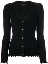 Alexander Wang soft knit cardigan - women - Cotton - S