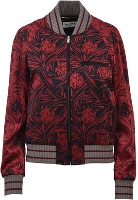 Saint Laurent Slim Fit Bomber Jacket