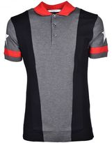 Givenchy Star Paneled Polo Shirt