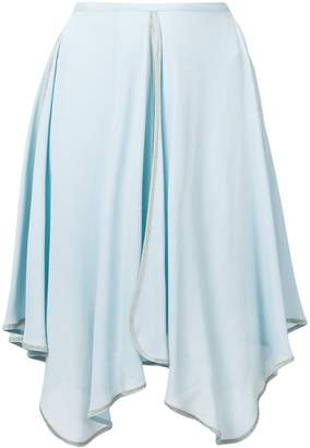 See by Chloe uneven draped skirt