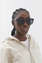 Urban Outfitters Olema Plastic Round Sunglasses