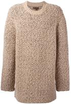 Yeezy Season 3 oversized teddy boucle sweater