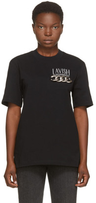 Alexander Wang Black Lavish T-Shirt