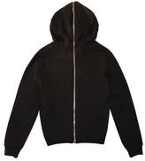 BLK DNM Zip Front Hooded Sweatshirt