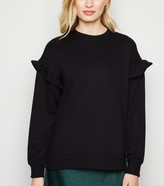 New Look Frill Sleeve Sweatshirt