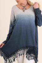 Umgee USA Dip Dye Plus Tunic