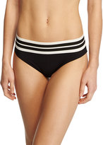 Karla Colletto Parallel Hipster Swim Bottom, Black