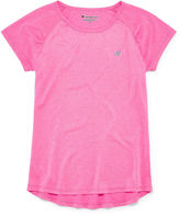 Champion Short-Sleeve Heather Raglan Tee - Girls 7-16