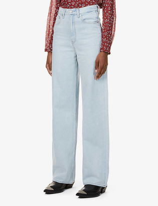 Levi's Relaxed-fit wide-leg high-rise jeans