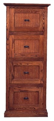 Millwood Pines Torin 4 Drawer Vertical File Finish: Spice Alder