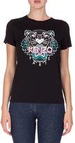 Kenzo Short-Sleeve Logo Jersey Tee, Black