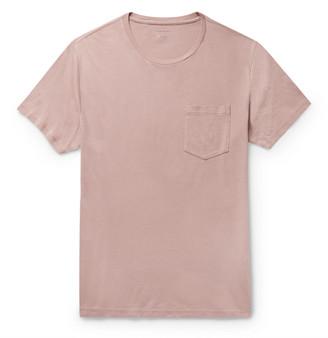 Club Monaco Williams Garment-Dyed Cotton T-Shirt