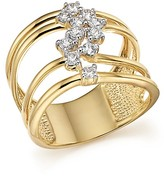 Bloomingdale's Diamond Multi Row Band in 14K Yellow Gold, .50 ct. t.w. - 100% Exclusive