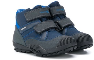 Geox Kids Touch-Strap Snow Boots