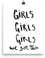 Mr. Kate Girls, Girls, Girls Print