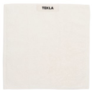 Tekla - Organic-cotton Washcloth - Ivory