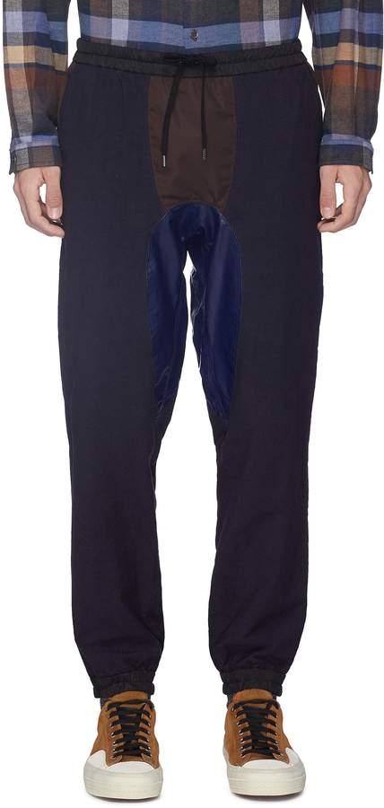 Kolor Patchwork jogging pants