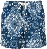 MC2 Saint Barth 'Gustavia' printed swim shorts - men - Polyamide/Polyester/Spandex/Elastane - S