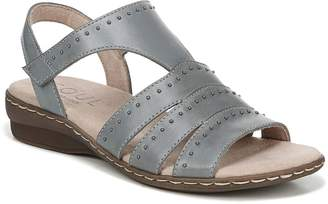 Naturalizer SOUL Leather Slingback Sandals - Beacon