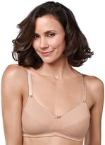 Amoena Bra: Ruth Cotton Soft Cup Wire-Free Bra 2873 - Women's