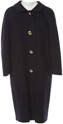 Akris Navy Wool Coats