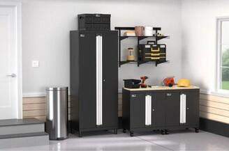 ClosetMaid ProGarage 5 Piece Cabinet & MaxLoad Shelf Set