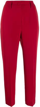 Blumarine high rise tapered trousers