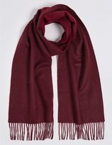 Marks and Spencer Reversible Pure Cashmere Woven Scarf
