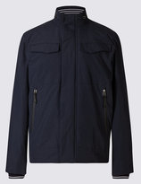 Marks And Spencer Fleece Bomber Jacket With Stormweartm