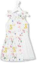 No Added Sugar Salad Days dress - kids - Cotton/Polyester - 3 yrs