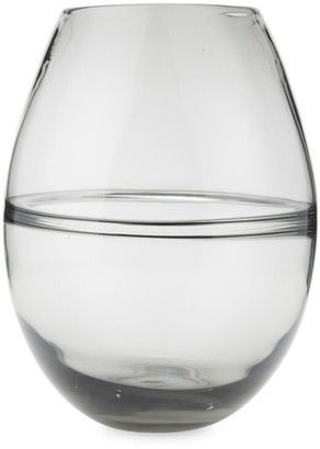 Torre And Tagus Designs Saturn Ring Glass Vase