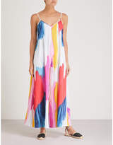Mara Hoffman Carly crepe maxi dress