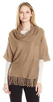 NY Collection Women's Fringe Pullover Top Sweater