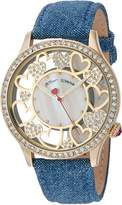 Betsey Johnson Women's BJ00331-09 Multi Heart Motif Dial Watch