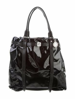 Lanvin Kentucky Tote Bag Black