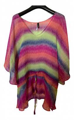 Vix Paula Hermanny Multicolour Silk Top for Women