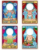 Fred & Friends Fred TRAVELING SIDESHOW BIBS Wipe-Clean Baby Bibs
