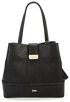 Kate Landry Tasseled Quilted Hobo Bag