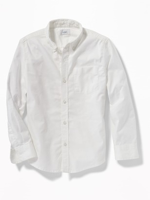 Old Navy Lightweight Built-In Flex Oxford Uniform Shirt for Boys
