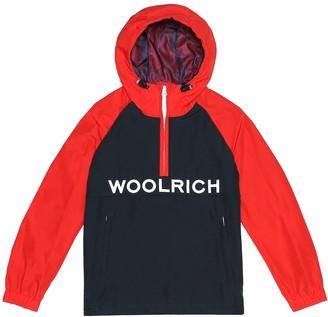 Woolrich Kids Ramar cotton-blend jacket