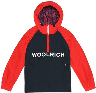Woolrich Kids Ramar cotton-blend jacket