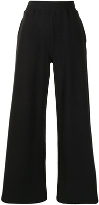 L'Agence High-Waisted Flared Leg Trousers