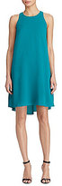 Lauren Ralph Lauren Stretch Crepe A-Line Dress