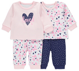 George 2 Pack Assorted Pyjamas