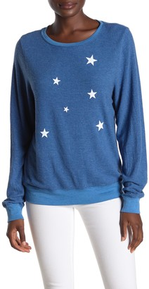 Wildfox Couture Star Fall Baggy Beach Pullover