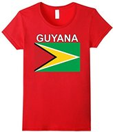 Women's Guyana National Flag Ancestry T-shirt XL