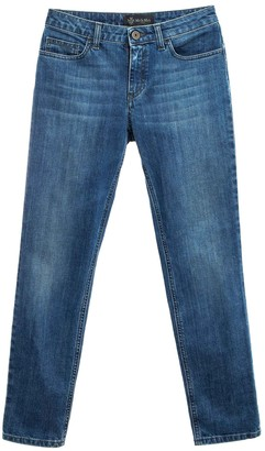 Mr & Mrs Italy Straight Jeans For Woman