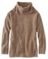 L.L. Bean Cozy Boucl Sweater, Cowlneck