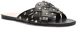 Schutz Women's Betisa Studded Woven Leather Sandals