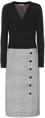 Altuzarra Wool-blend midi dress